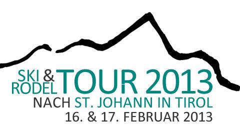 Ski- & Rodeltour 2013 nach St. Johann